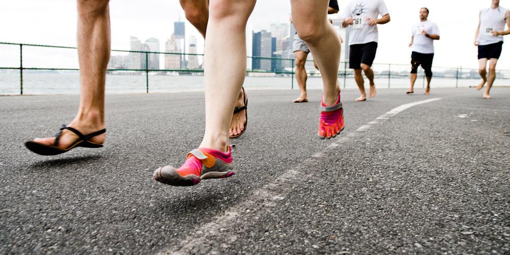 Dopamine Entraînement Privé - Courir pieds nus